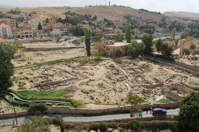 Übersicht über das Grabungsareal Bustan Nassif
