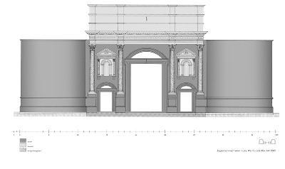 Bogenmonument extra muros