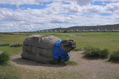 Granitschildkröte in Karakorum