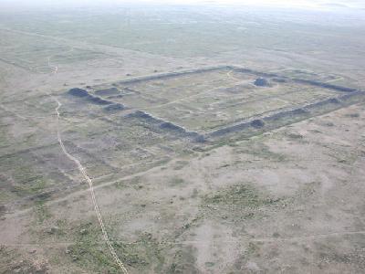 Luftbildaufnahme Karabalgasun
