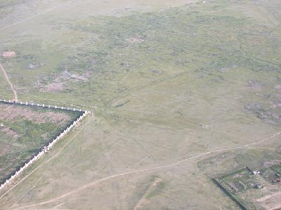 Luftbildaufnahme Karakorum
