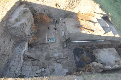 Überblick Westtor Zitadelle