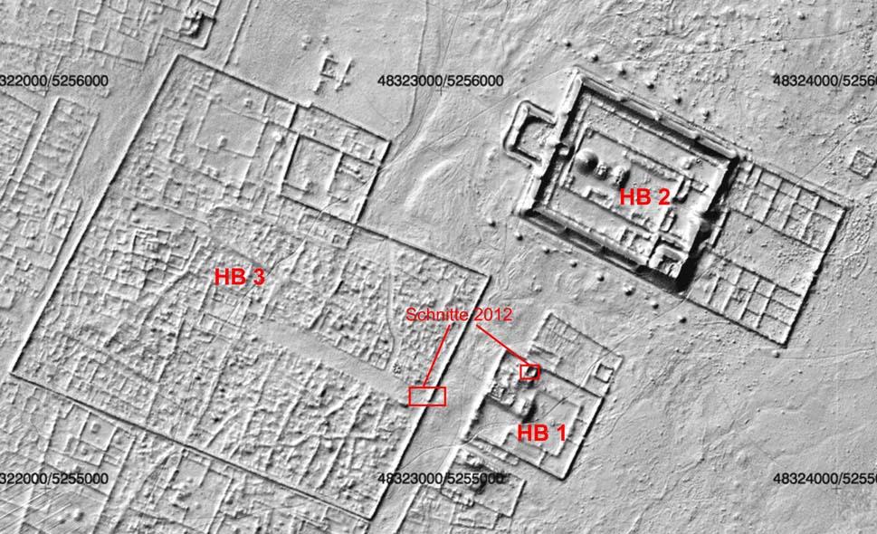 Laserscanplan von Karabalgasun