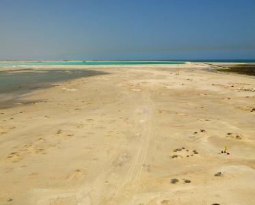 Umm el-Houl (Katar). Überblick über das Ruinengelände