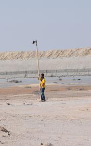 Umm el-Houl (Katar). Ortho-photographische Aufnahme des Ruinengeländes, J. Krumnow, datalino