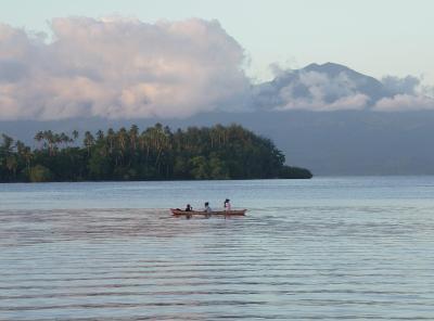 Insel Gizo, Salomonen
