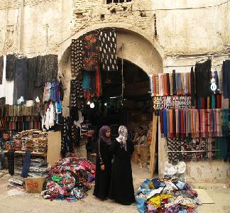 Erbil, südliches Eingangstor zur Qaisariya Ost - der Qaisariya der Schneider