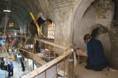 Bauaufnahme im Basar von Erbil (Irak, autonome Region Kurdistan).jpg
