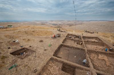 Ausgrabung am Göbekli Tepe