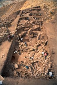 Ausgrabung von Anlage A 1997