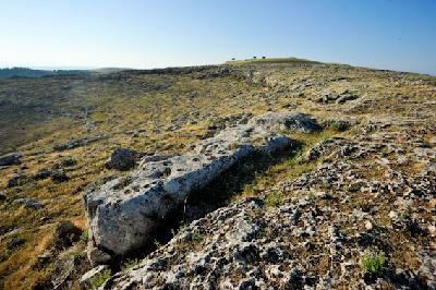 Pfeiler im Steinbruch