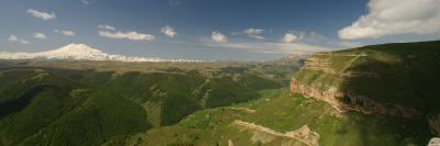 Landschaft im Nordkaukasus
