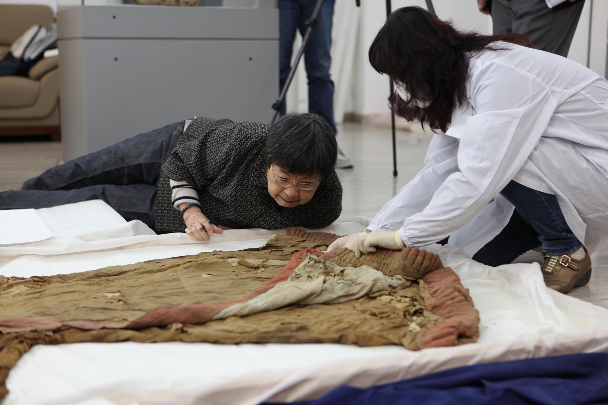 Chinesische Wissenschaftler bei der Arbeit