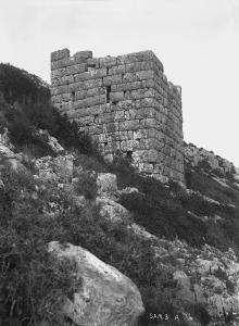 Samos. Stadtmauer (April 1893)