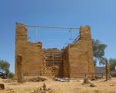 Der Große Tempel nach der Restaurierung
