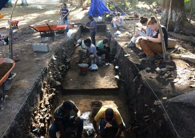 Ausgrabungen in Guadalupe