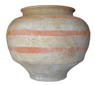 Gonur 20. Bemaltes Gefäß aus Grab 65