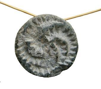 Gonur 20. Siegelamulett aus Stein a) Wirbelmotiv