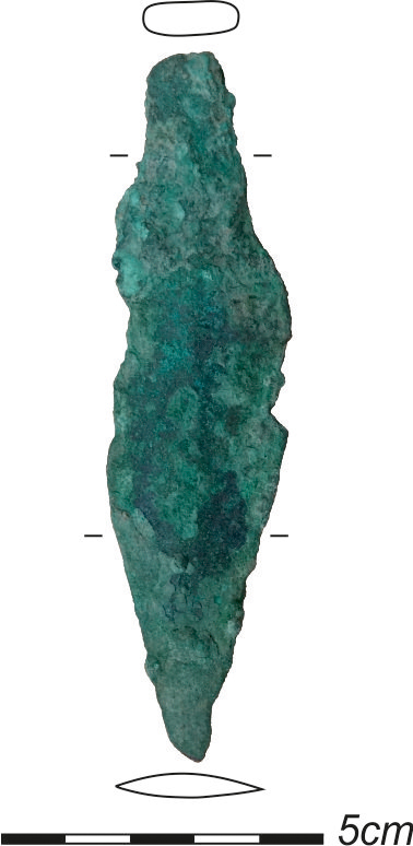 Kupferdolch