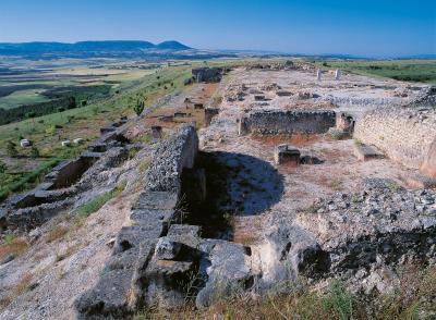 Cañaveruelas, archäologische Ausgrabung von Ercávica