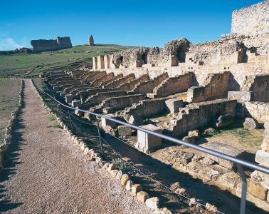 Castilla la Mancha, Nymphäum in Valeria