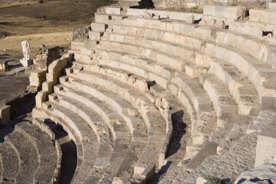 Castilla la Mancha, Theater im archäologischen Park von Segóbriga