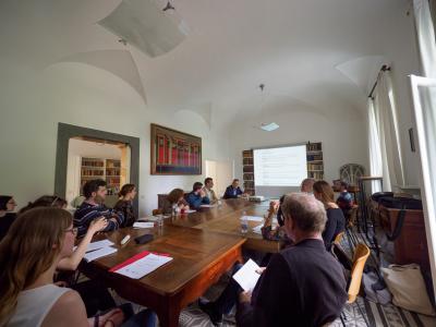 Doktorandenworkshop im Villino Amelung -1