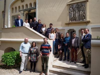 Doktorandenworkshop im Villino Amelung -2