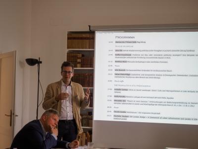 Doktorandenworkshop im Villino Amelung -4