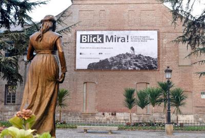 Foto-Ausstellung Blick-Mira im Regionalmuseum der Comunidad de Madrid in Alcalá de Henares