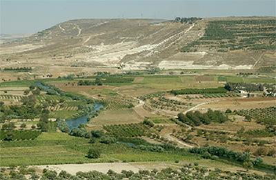 Orontes-Tal östlich von ar-Rastan