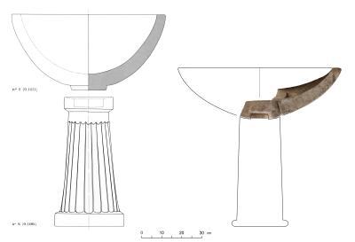 Kultgefäße aus einem hellenistischen Heiligtum in Ai Khanoum und dem Oxos-Tempel