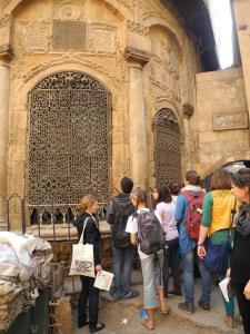Besichtigung der Altstadt Kairos, April 2013
