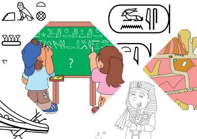 Titelbild zu den Unterrichtsmaterialien zur ägyptischen Archäologie