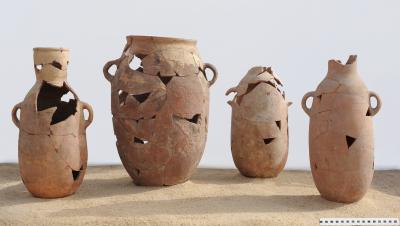 Keramikgefäße des Hohepriesters Amenophis (20. Dynastie)
