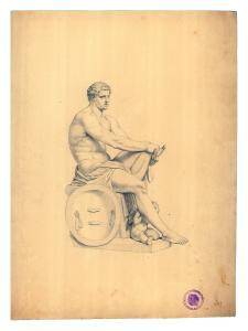Ares Ludovisi, aus dem Historischen Archiv des DAI Rom