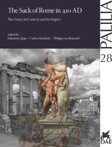 Buchcover Palilia 28 The Sack of Rome