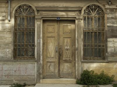 Prinzeninseln, Eingang des Apostolidis Köskü auf Heybeli Ada
