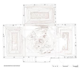 Grundriss des Divanhane in der Bauaufnahme